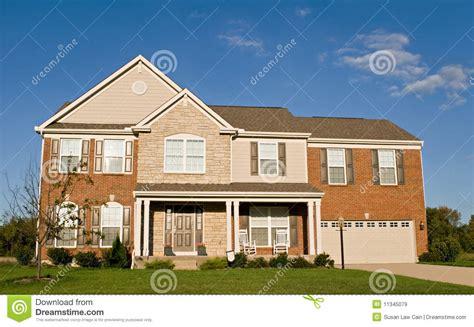 stone brick house stone and brick house royalty free stock images image 11345079