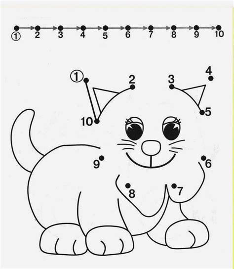 kids under 7 free dot to dot worksheets for kids part 2