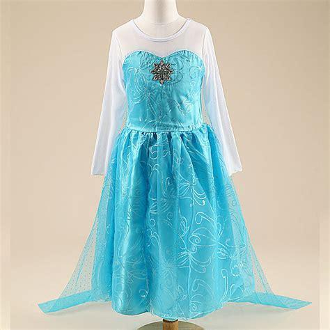 Baju Elsa Frozen Jakarta frozen elsa baju anak size 100 z006 blue jakartanotebook