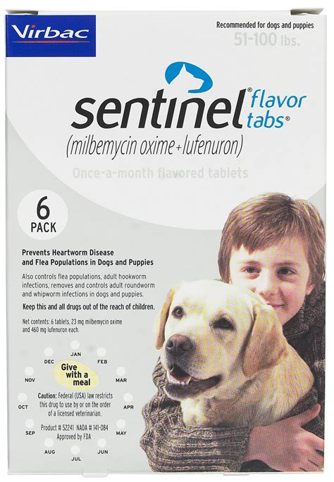sentinel for dogs sentinel heartworms fleas worms virbac safe pharmacy heartworm prevention flea