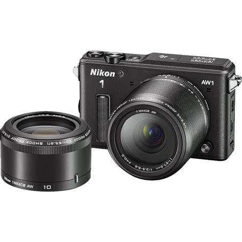 nikon 1 aw1 mirrorless digital with 11 27 5mm and 27667
