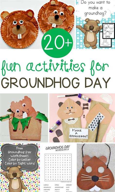 groundhog day kindergarten 149 best images about groundhog s day for preschoolers