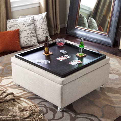 coffee table ottoman storage best 25 ottoman with storage ideas on diy