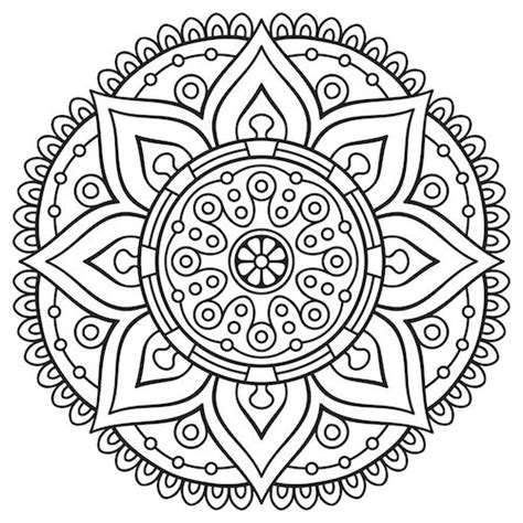 sunflower mandala coloring pages 118 best images about mandalas on pinterest coloring