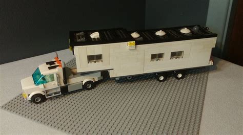 tutorial lego fifth wheel custom lego fifth wheel and truck youtube