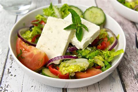 greek salads greek salad recipe daily gourmet