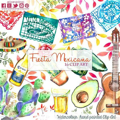 imagenes invitaciones revolucion mexicana fiesta cute digital clipart spanish mexican clipart mexican