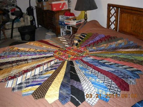 Quilt Made Of Ties by Quilt Made Out Of Ties Sewing
