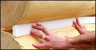 how to install backer rod grip trapezoidal backer rod logfinish