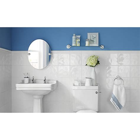wickes bathrooms tiles wickes bumpy white gloss ceramic wall tile 200 x 200mm