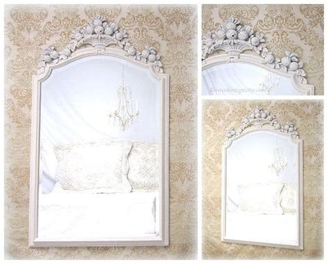 french country mirrors for sale framed white mirror 45 quot x33