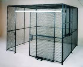 wire partitions tool cribs storage cages and security