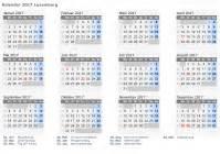 Kalender 2018 Feiertage Luxemburg Kalender 2017 Luxemburg Mit Feiertagen