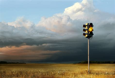 A Yellow Traffic Light Means by Traffic Light Netdog 06