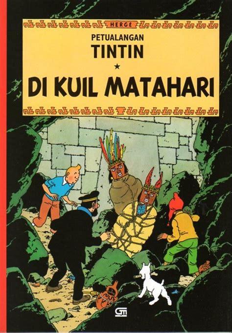 Petualangan Tintin Di Tanah Sovyet Herge tintin kisah petualangan 14 di kuil matahari