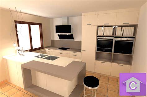 photo de cuisine ouverte avec ilot central photo de cuisine ouverte avec ilot central digpres