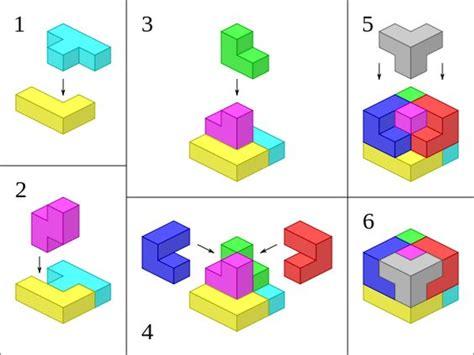 Origami Soma Cube - soma cube solution soma cube the free