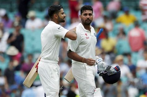 murali vijay virat kohli expose bangladesh cricket teams india vs australia 4th test day 5 score kohli and co
