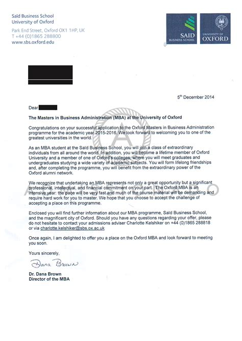 Offer Letter Iium 2015 Oxford Pw Admissionado