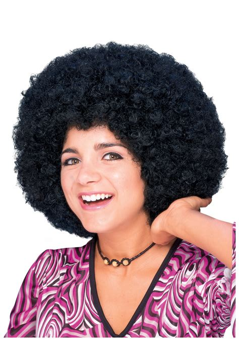 afro hairstyles of the 70 s adult afro wig