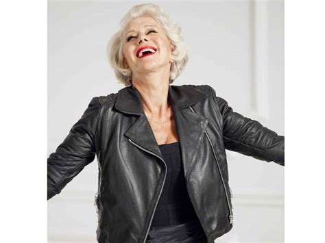 helen mirren hairstyles for l oreal dame helen mirren makes l oreal paris debut the independent
