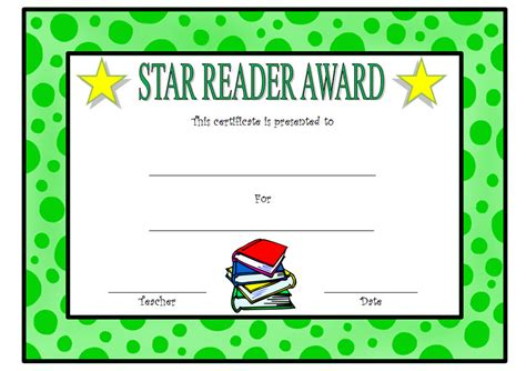 printable star reader certificates charming reading certificate templates ideas exle