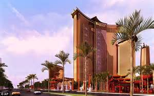themed hotels in las vegas construction begins on china themed mega casino in vegas