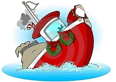 barco hundiendose animado imagen 16871412 santa en un barco que se hunde autor