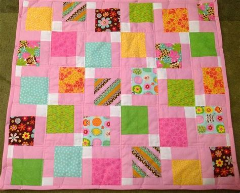 Disappearing 9 Patch Baby Quilt by Baby Disappearing Nine Patch Quilt Sewing