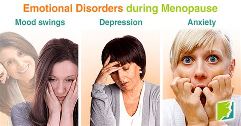 hot flashes mood swings depression emotional disorders during menopause