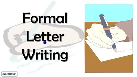 exle of formal letter composition formal letter writing cbse icse class 10 english lesson