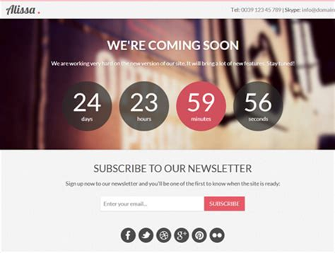 free responsive coming soon page template 72 best coming soon construction html templates