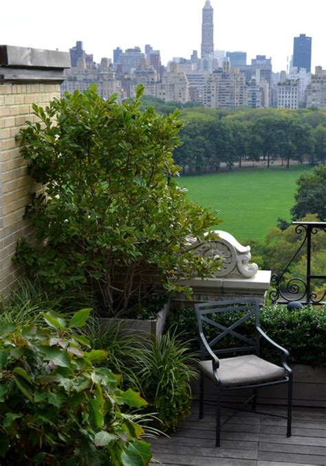 Landscape Architect Central Park Central Park West Traditional Porch New York By