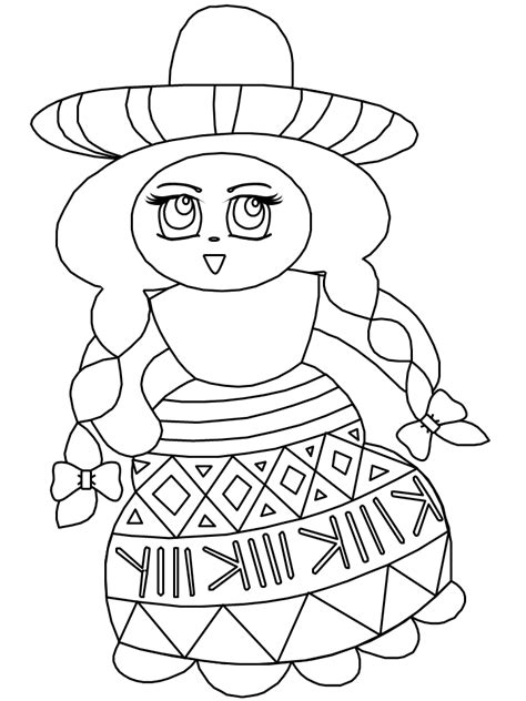 mexican coloring pages printable mexican coloring pages coloring home