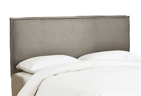 gray linen headboard grey linen headboard for the home pinterest