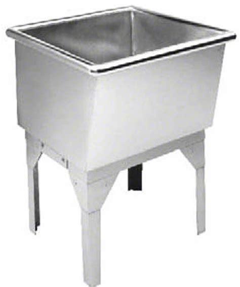 stainless steel utility sink freestanding free standing laundry room sink mud room sinks by just