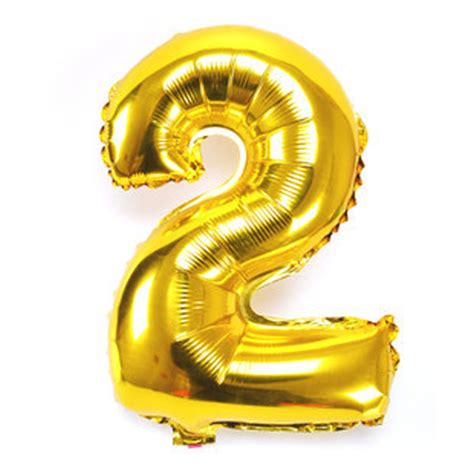 Balon Foil Angka Silver Gold By Esslshop 16 40 foil balloon numbers 0 9 helium large baloons happy birthday decor ebay