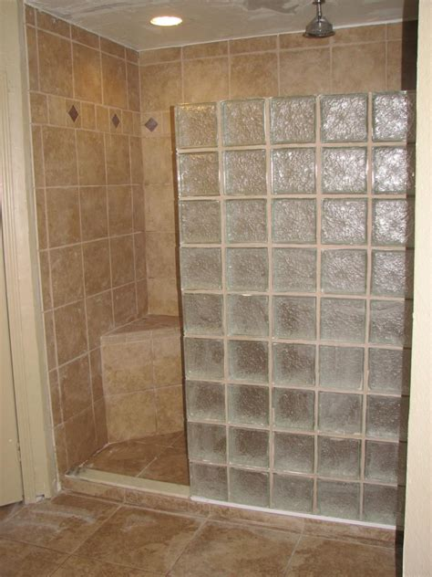 glass block designs for bathrooms glass block shower designs photos