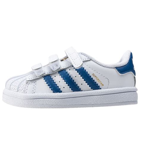 Adidas Toddler 1 adidas superstar foundation cf i toddler trainers in white blue