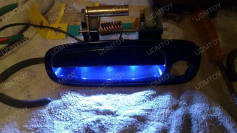 installing led lights in car how to install led emitter door handle lights