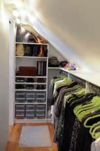 slanted ceiling closet on slanted ceiling