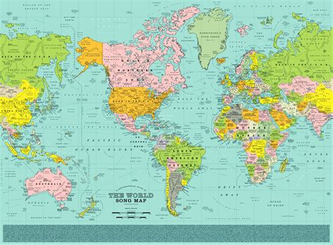 worlds map this world map pin points 1 200 songs right where they