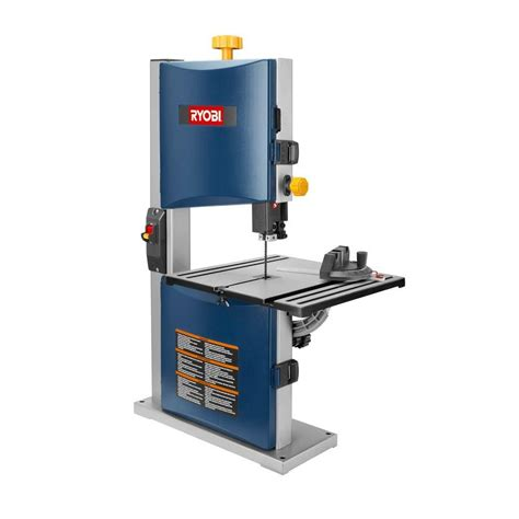 bench bandsaw ryobi bs904 9 inch bench top band saw cutting aluminum