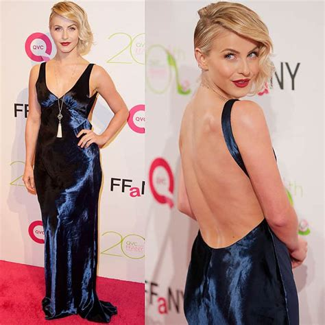 Who Wore Godfrey Better Hudgens Or Julianne Hough by Who Wore Velvet Dress Better Julianne Hough Vs