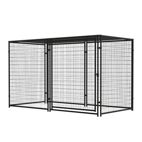 pet sentinel  ft   ft outdoor dog kennel preassembled