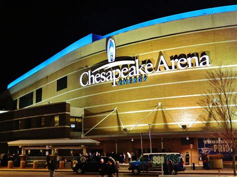 chesapeake energy arena hispanosnbacom