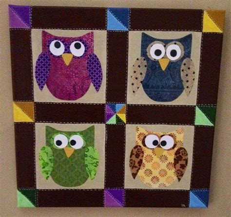 Quilt Owl by 1000 Images About Quilts Owls On Owl Paper