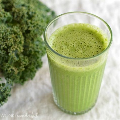 Best Kale Detox Smoothie by Green Smoothie Recipe Grapefruit And Kale Wonkywonderful