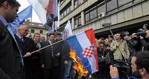 Serbia Vs Thåy Sù Croatia Renewed Aggression And Hatred From Serbia