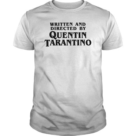 film written by quentin tarantino written and directed by quentin tarantino dark shirt